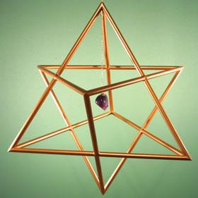 etoile tetraedrique suspendue