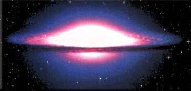 forme merkaba galaxie